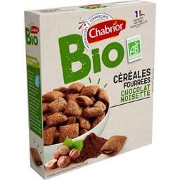 Céréales fourrées chocolat noisette BIO