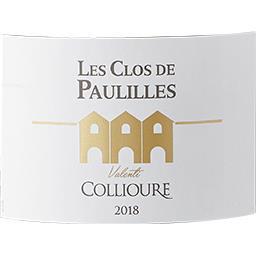 Collioure Les Clos de Paulilles Valenti vin Rouge 2016