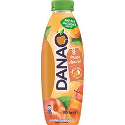 Danao Danao Boisson pêche abricot sans sucres ajoutés la bouteille de 900 ml