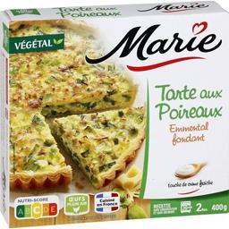 Marie Marie Tarte aux poireaux emmental fondant la boite de 400 g