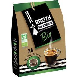 Dosettes de café moulu Breizh BIO