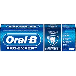 Oral B Oral-B Dentifrice pro-expert nettoyage intense Le tube de 75 ml
