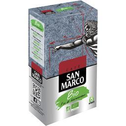 San Marco San Marco Café moulu BIO le paquet de 250 g