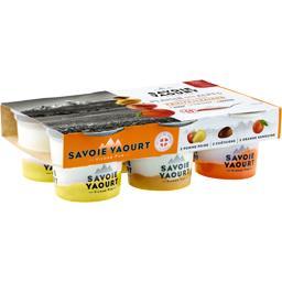 Plaisir des Alpes - Yaourt au lait de Savoie fruits assortis