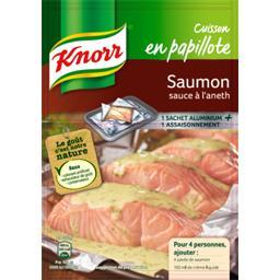 Assaisonnement Cuisson en Papillote saumon sauce à l...