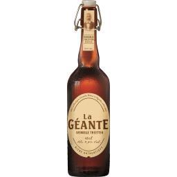 Bière authentique La Géante
