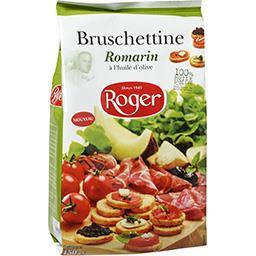 Bruschettine romarin