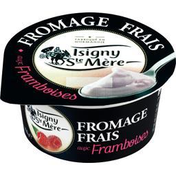 Fromage frais aux framboises