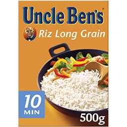 Uncle Ben's Uncle Ben's Riz long grain 10 minutes la boite de 500 g