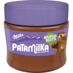 Milka Milka Pâte à tartiner Patamilka aux noisettes le pot de 240 g