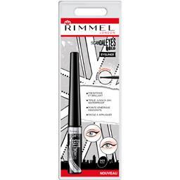 Rimmel London Scandaleyes Bold - Eyeliner 001 Black le flacon de 2,5 ml
