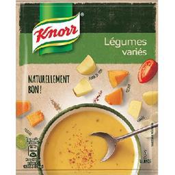 Soupe légumes variés