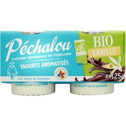 Yaourts aromatisés vanille BIO