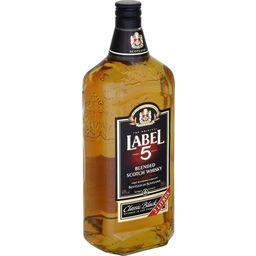 Label 5 Label 5 Blended Scotch Whisky Classic Black la bouteille de 2 l
