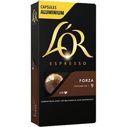 Capsules de café Forza