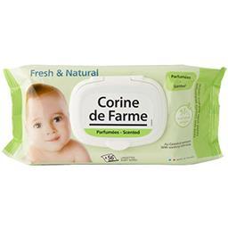 Corine de Farme Corine de Farme Lingettes Fresh & Natural le paquet de 56