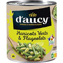 Duo haricots verts & flageolets