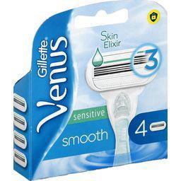 Gillette Gillette Vénus - Lames de rasoir Sensitive Smooth pour femme la boite de 4