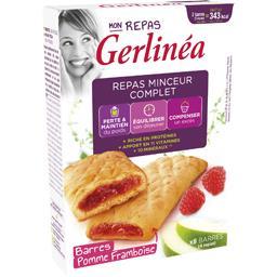 Gerlinéa Gerlinéa Mon Repas - Barres pomme framboise les 8 barres de 45 g