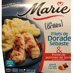Les Grillés - Filets de dorade Sébaste purée pommes de terre