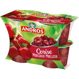 Délice en Morceaux - Dessert de cerises