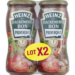 Heinz Sauce pour pâtes Sacrément Bon provençale le flacons de 490 g