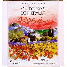 Vin de pays de l'Hérault, vin rosé
