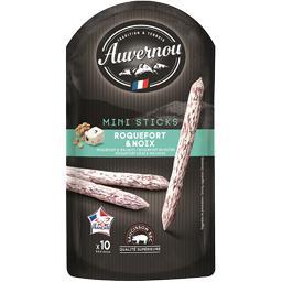 Auvernou Saucisson Mini sticks roquefort & noix