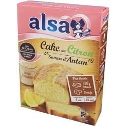 Alsa Cake au citron saveur d'Antan