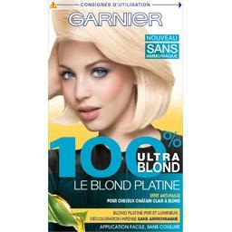 Décoloration sans ammoniaque Le Blond Platine