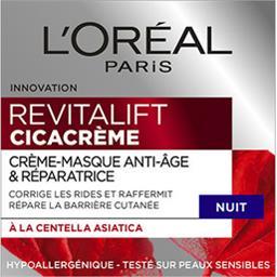 Revitalift - Crème-masque anti-âge & réparatrice nui...