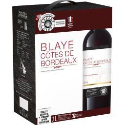 Blaye Côtes de Bordeaux, vin rouge