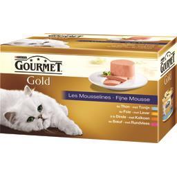 Gold - Les Mousselines pour chats