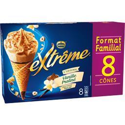 L'Original - Cône vanille praliné & cœur fondant pra...
