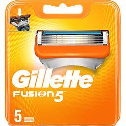 Gillette Gillette Lames de rasoir pour homme fusion5 La boîte de 5 lames
