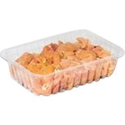 Filets de poulet en morceaux