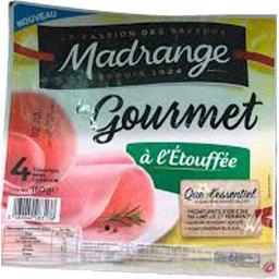 Madrange Jambon Le Gourmet à l'étouffée sans couenne