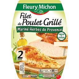 Filet de poulet grillé mariné herbes de Provence
