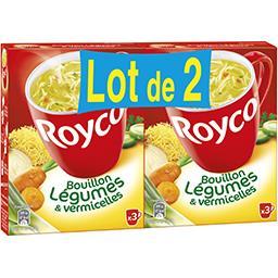 Royco Royco Bouillon de légumes & vermicelles le lot de 2 boites de 37,8 g