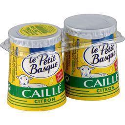 Lait de brebis Caillé citron