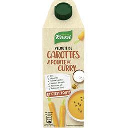 Knorr Knorr Velouté de carottes & pointe de curry la brique de 750 ml