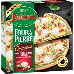 Four à Pierre - Pizza Creazione douceur de chèvre lardons