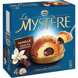 Glace Le Mystère vanille cœur au chocolat