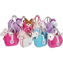 Lovely Bag 20 cm peluches assorties