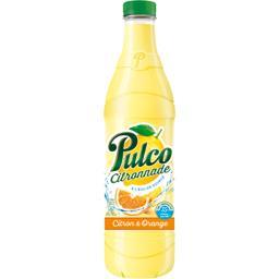 Citronnade à l'eau de source citron & orange
