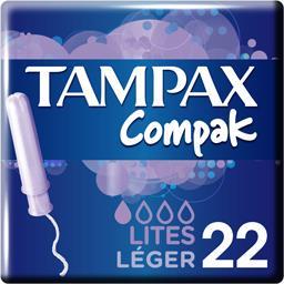 Tampax Tampax Compak - Tampons Léger avec applicateur la boite de 22