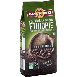 Café pur arabica moulu Ethiopie BIO