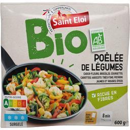 Poêlée de légumes BIO