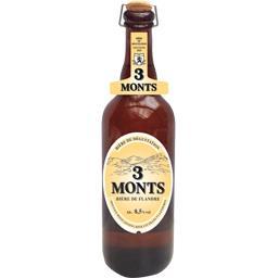 3 Monts 3 Monts Bière de dégustation la bouteille de 75 cl