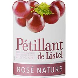 Pétillant de Listel rosé nature